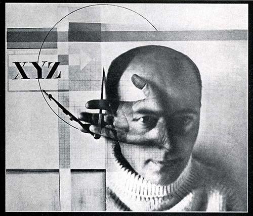 retrato Lissitzky