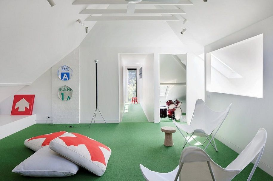 Moderna casa escandinava en Australia
