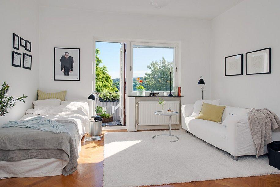 Pequeño apartamento escandinavo lleno de encanto