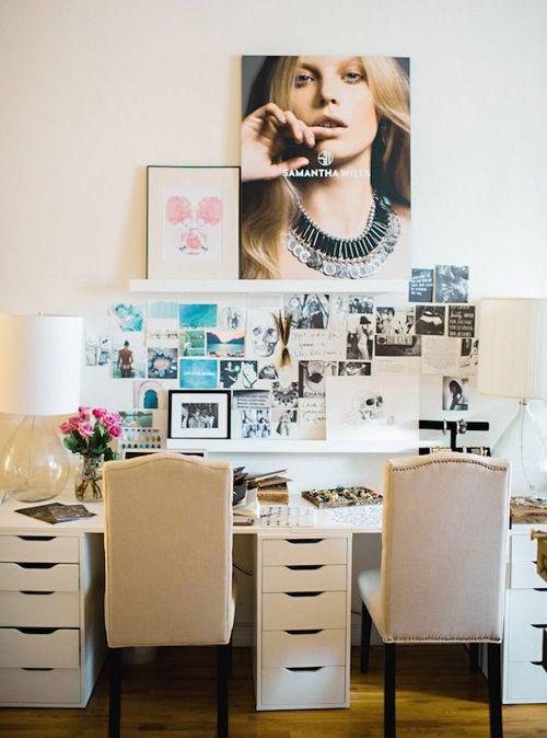 espacio creativo de trabajo menos ordenado