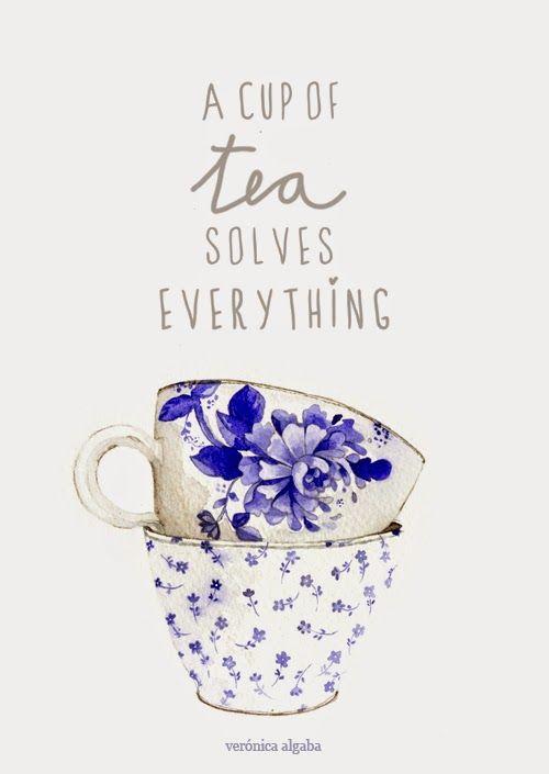 veronica algaba a cup of tea solves everything