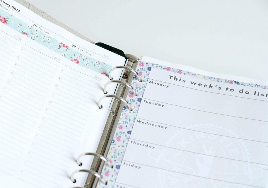 Customiza tu organización con las agendas Filofax