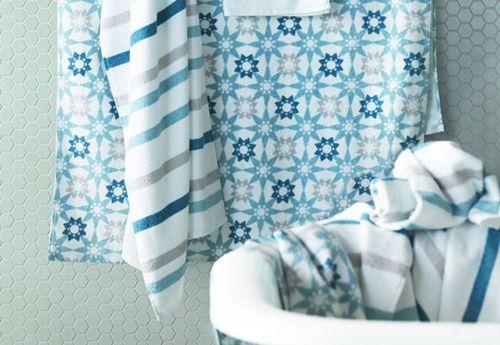 Nuevas toallas azules ikea catalogo 2015