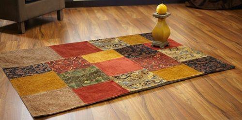 (alfombra estilo) arabe con candelabro