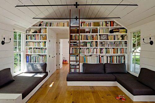 Bibliotecas en casa, espacios para el crecimiento personal