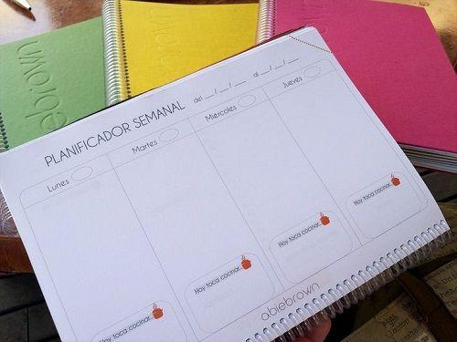 planificador agenda abiebrown