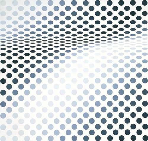 Hesitate 1964 by Bridget Riley born 1931