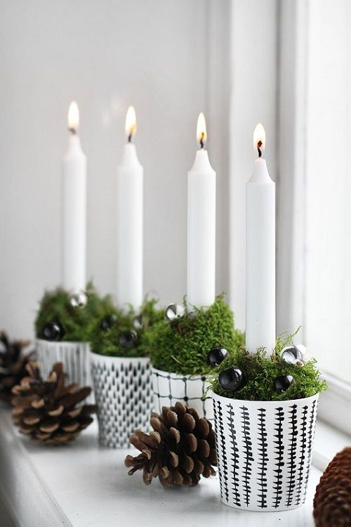 christmas candle 5