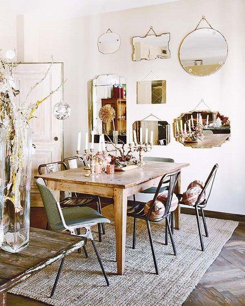 Decora tu casa con espejos vintage