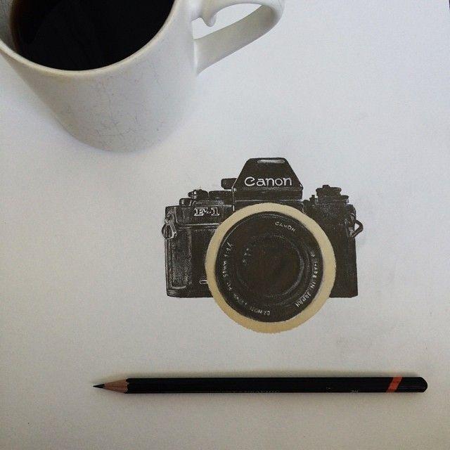 dibujo cercos cafe circulos carter asmann arte