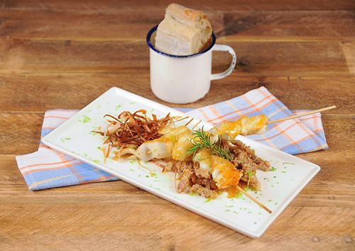 plato carta oferta gastronomica restobar saporem madrid