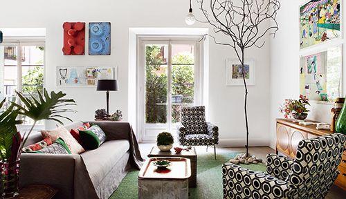 salon casa pepe leal madrid interiorismo decoracion