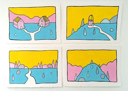 serie exposicion ilustracion pau sanz i vila