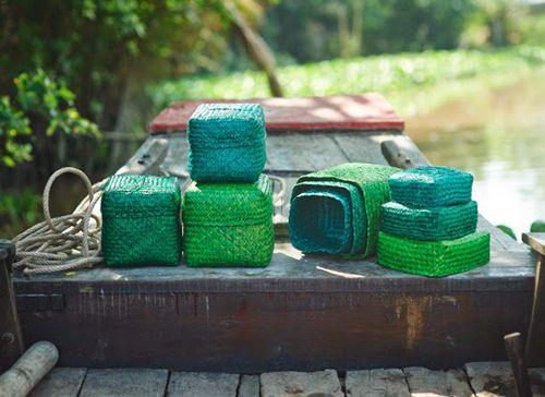 cajas trenzadas coleccion ikea nipprig sostenible