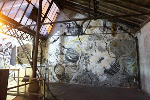 interior la neomudejar atocha centro arte vanguardistas madrid