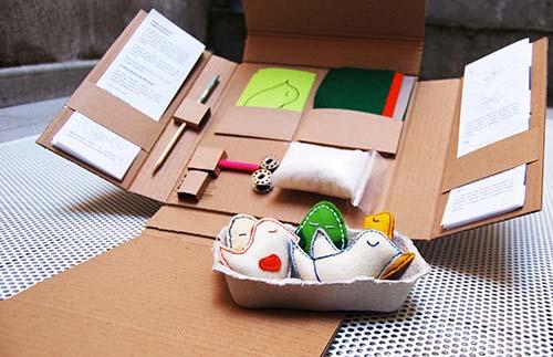 kits costura diy ideas emprendedoras  fabrica de texturas