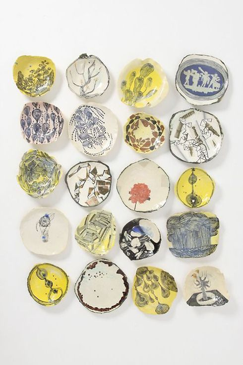 ruan hoffmann ceramica ideas decoracion platos paredes
