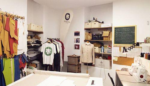 sense nu taller showroom oriol moda hombre ropa ecologica