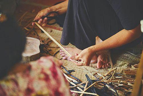 vietnam indonesa artesanos junco de agua ikea coleccion sostenible nipprig