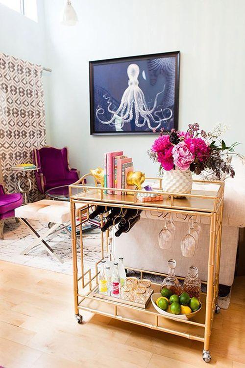 camarera carrito auxiliar portatil salon ideas hogar decoracion