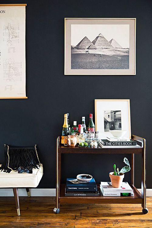 camarera minimalista ideas decoracion carrito auxiliar almacenaje hogar