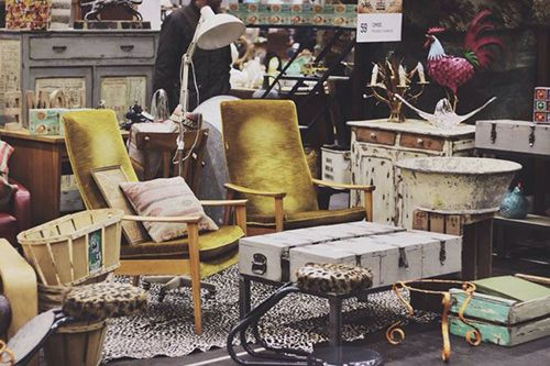 feria retro vintage decoracion muebles desembalaje madrid 2015