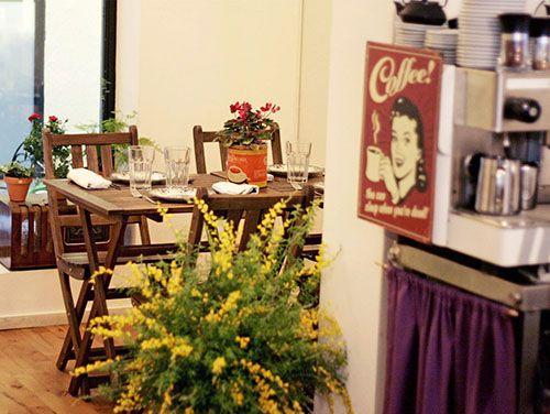 interior tandem restaurante bar barrio de las letras madrid