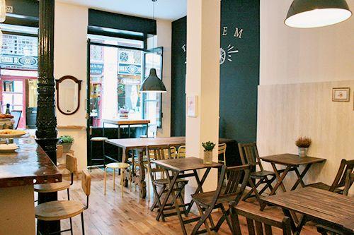 local interior tandem madrid restaurante bar barrio de las letras