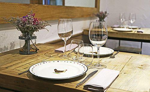 mesa restaurante triciclo madrid