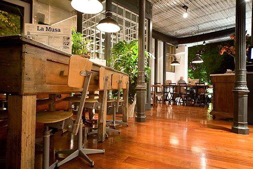 restaurante la musa la latina madrid