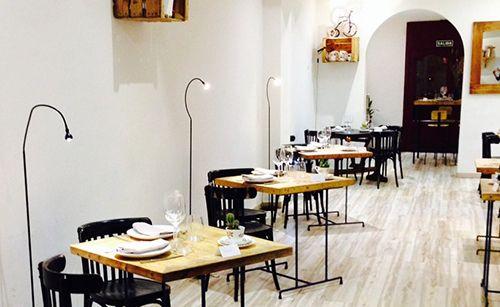 triciclo restaurante madrid salon mesas