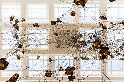 bocci lights canada house londres diseño lampara omer arbel