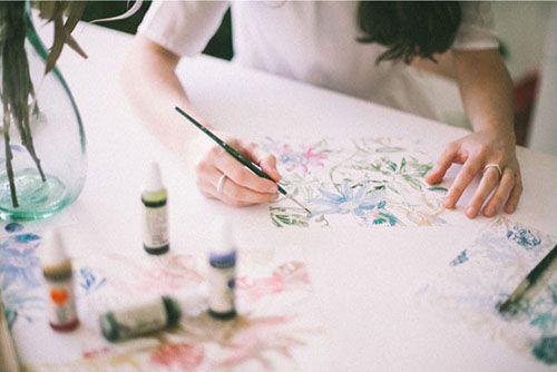coordonne lara costafreda ilustracion papel pintado decoracion