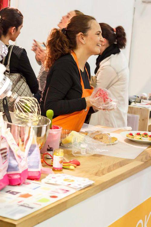 diy show stand cocina feria talleres craft madrid
