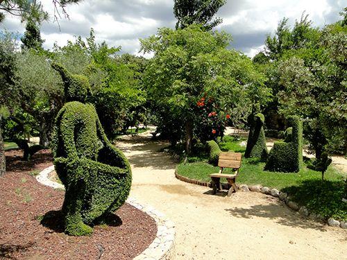 el bosque encantado parque museo botanico esculturas vegetales madrid