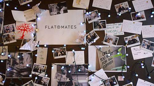 flatplanet londres cafeteria soho tablon decoracion
