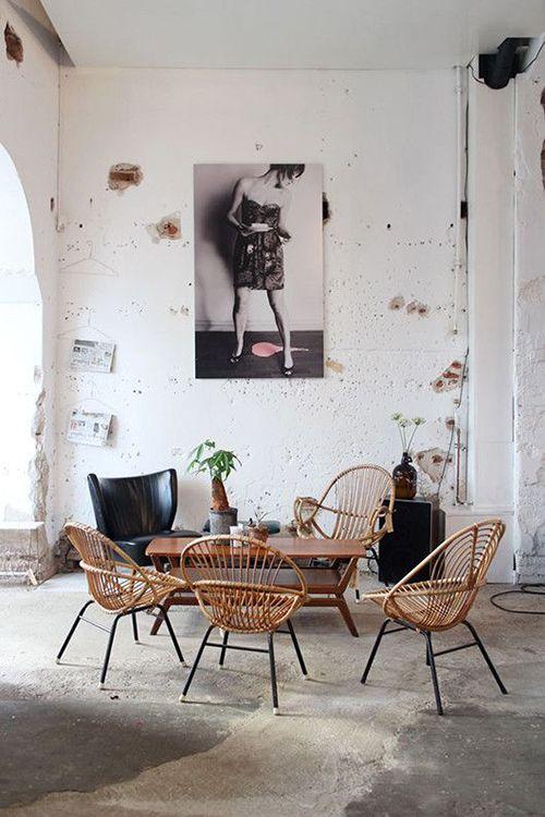 sillas bambu tendencias decoracion muebles