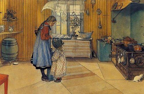 la cocina carl larsson museo nacional de estocolmo suecia