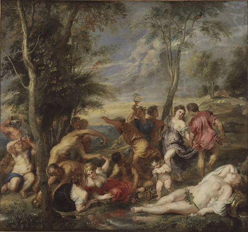 Peter Paul Rubens la bacanal museo nacional estocolmo arte