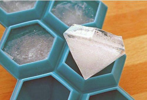 cubitera en forma de diamante