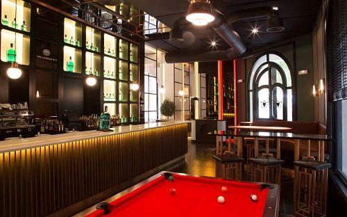 sala pool bar restaurante fox