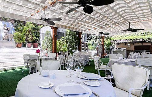 terraza restaurante hotel miguel angel madrid splunch comida