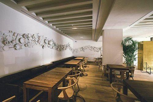 the table by restaurante efimero abastos hotel urso madrid