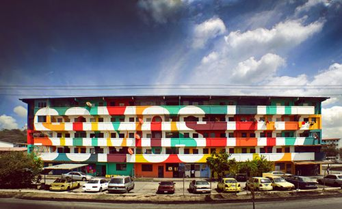 somos luz panama arte urbano social boa mistura