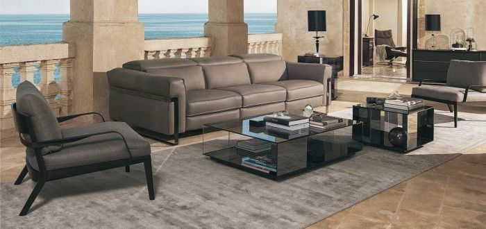 sofa marron