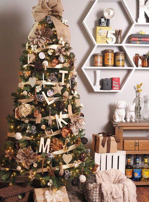 Algunas ideas para decorar tu árbol de Navidad