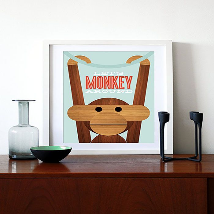 monkey aroun cuadro