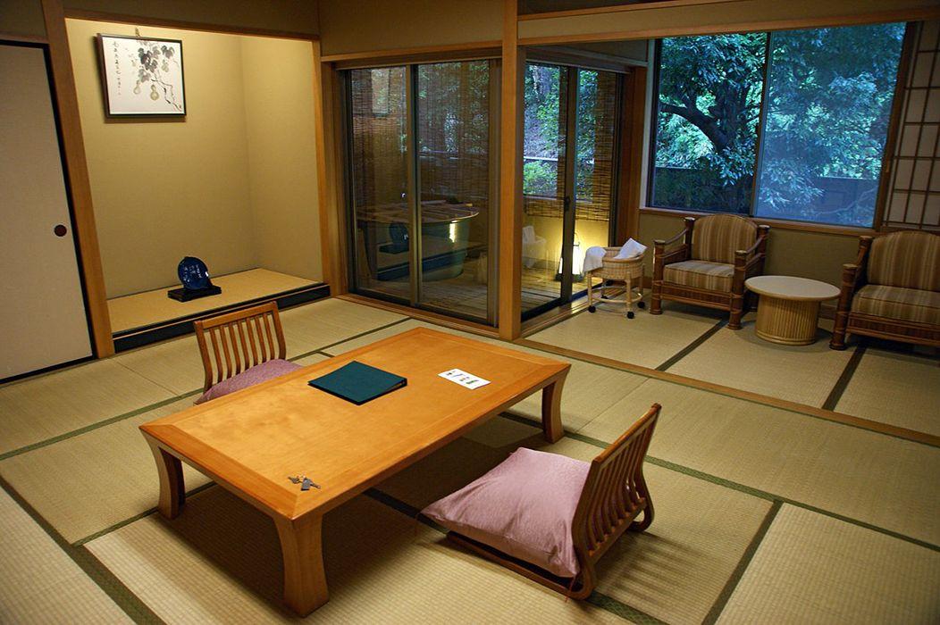sala de estar japon