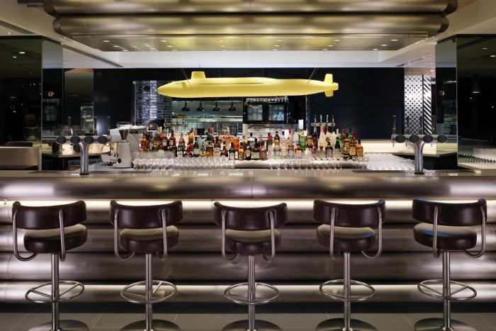Hotel Mondrian en Londres, decorado por Tom Dixon