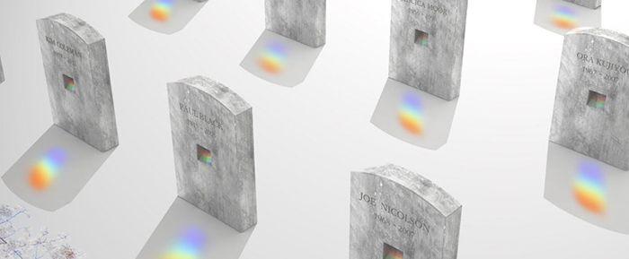 diseño en tu entierro tumbas creativas lapida cristal